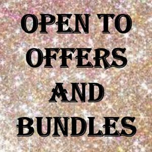 Open to Offers and Bundles